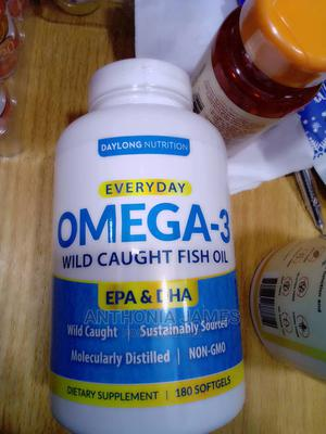 Omega 3 Wild Caught Fish Oil | Vitamins & Supplements for sale in Lagos State, Ikeja
