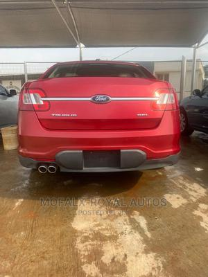 Ford Taurus 2010 SE Red   Cars for sale in Lagos State, Ajah