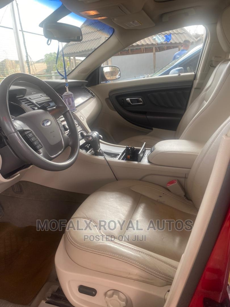 Archive: Ford Taurus 2010 SE Red