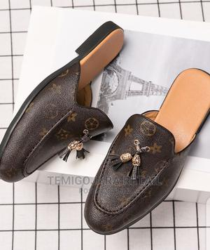 Louis Vuitton Volataire Men's Slide Half Loafers in Brown | Shoes for sale in Lagos State, Gbagada