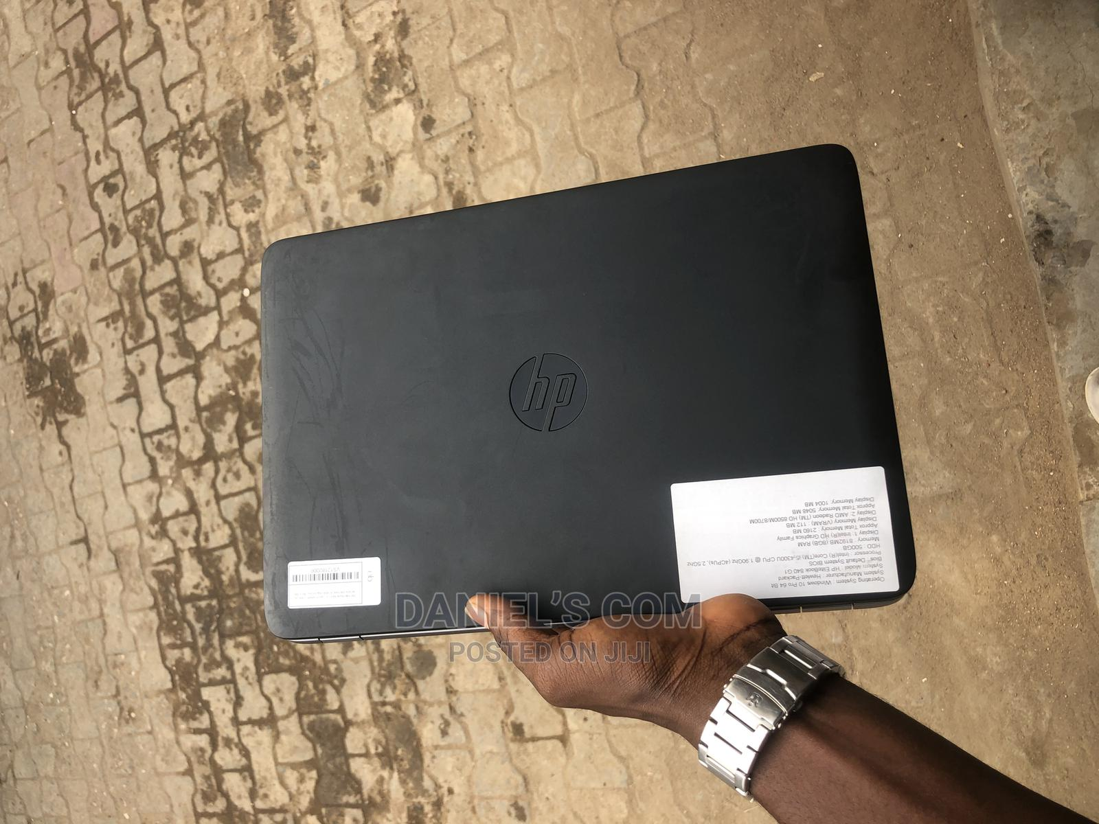 Laptop HP EliteBook 840 G1 4GB Intel Core I5 HDD 500GB   Laptops & Computers for sale in Ikeja, Lagos State, Nigeria