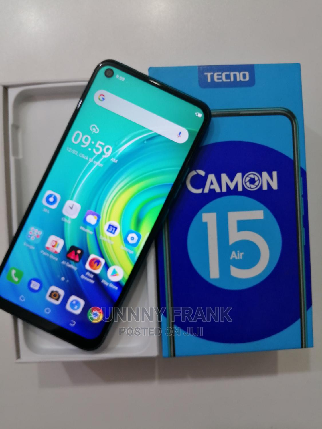 Tecno Camon 15 Air 64 GB Green | Mobile Phones for sale in Wuse 2, Abuja (FCT) State, Nigeria