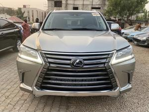 Lexus LX 2018 570 Three-Row Gold   Cars for sale in Abuja (FCT) State, Wuse 2