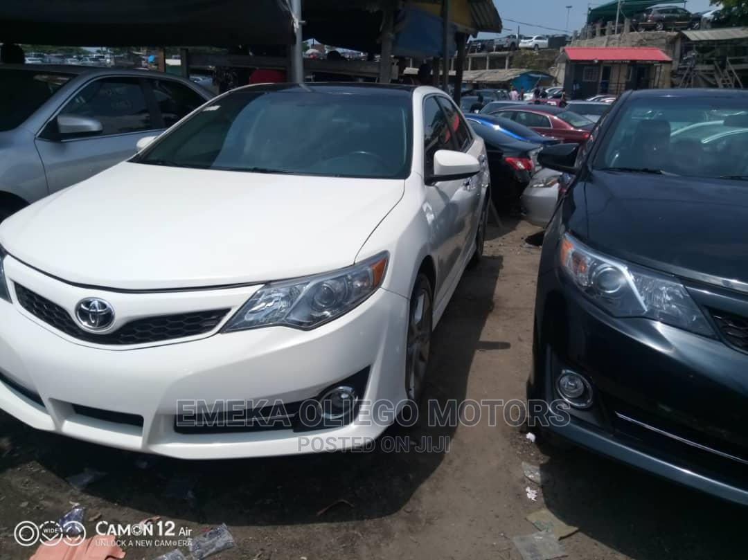 Toyota Camry 2012 White | Cars for sale in Apapa, Lagos State, Nigeria