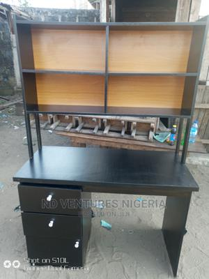 Office Table With Book Shelf | Furniture for sale in Lagos State, Ojo