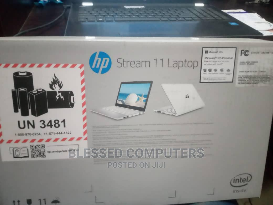 New Laptop HP Stream 11 4GB Intel Celeron HDD 60GB | Laptops & Computers for sale in Ikeja, Lagos State, Nigeria