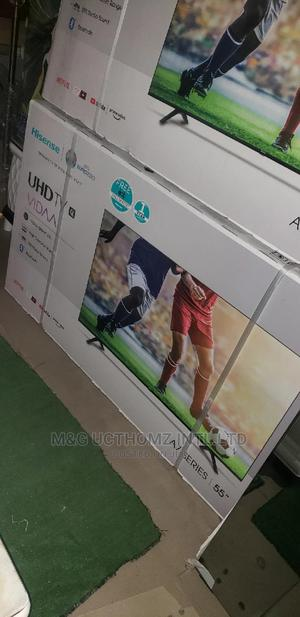 Hisense Smart 4K Television 55inches | TV & DVD Equipment for sale in Lagos State, Ajah
