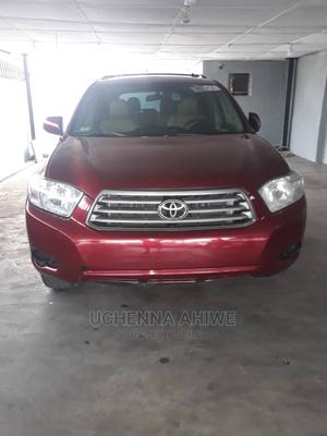 Toyota Highlander 2010 Red   Cars for sale in Lagos State, Surulere