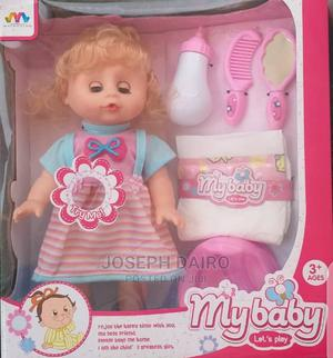 Girl Baby Doll With Comb Potty Feeding Bottle   Toys for sale in Lagos State, Kosofe