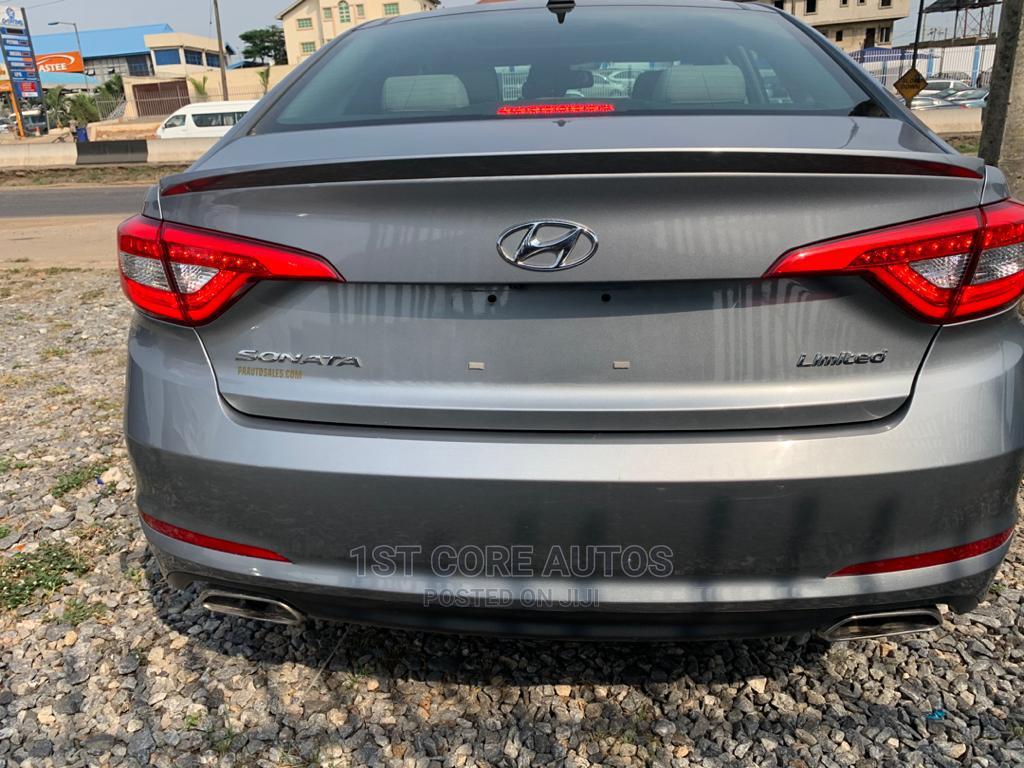 Hyundai Sonata 2015 Gray   Cars for sale in Ikeja, Lagos State, Nigeria