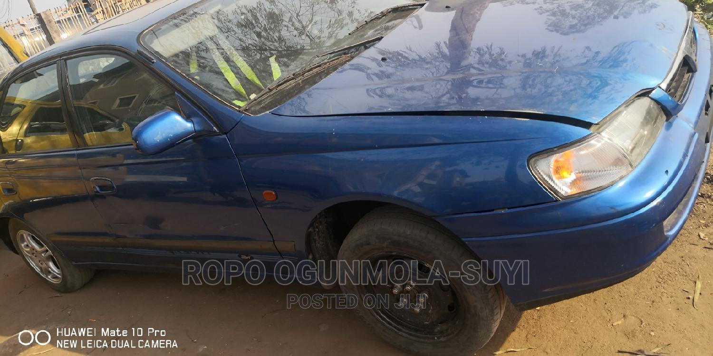 Archive: Toyota Carina 1998 E Blue
