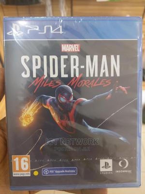 Miles Morales Spiderman Ps4 Disc   Video Games for sale in Abuja (FCT) State, Wuse