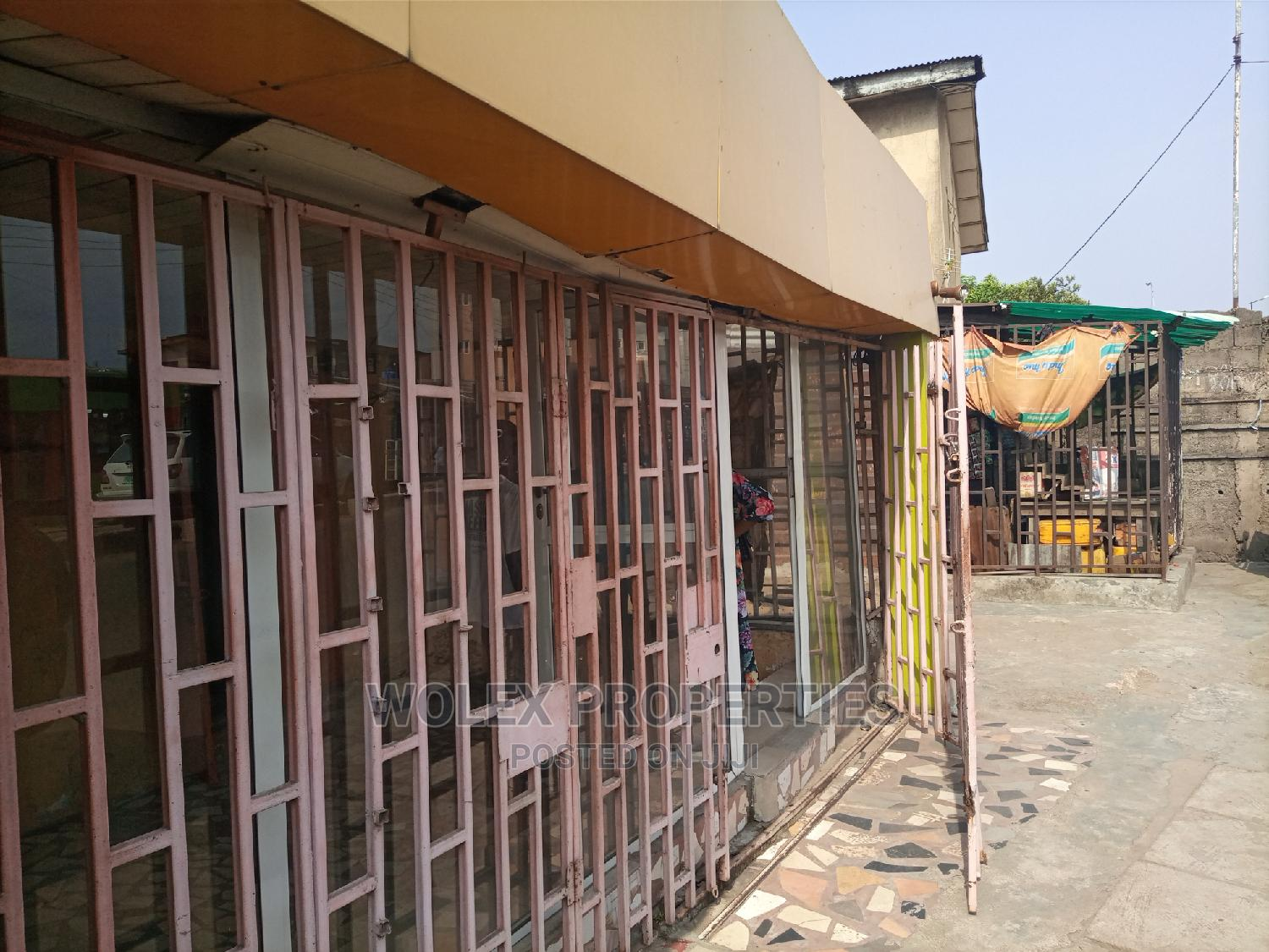 Archive: Double Shop on Akowonjo Road, Egbeda