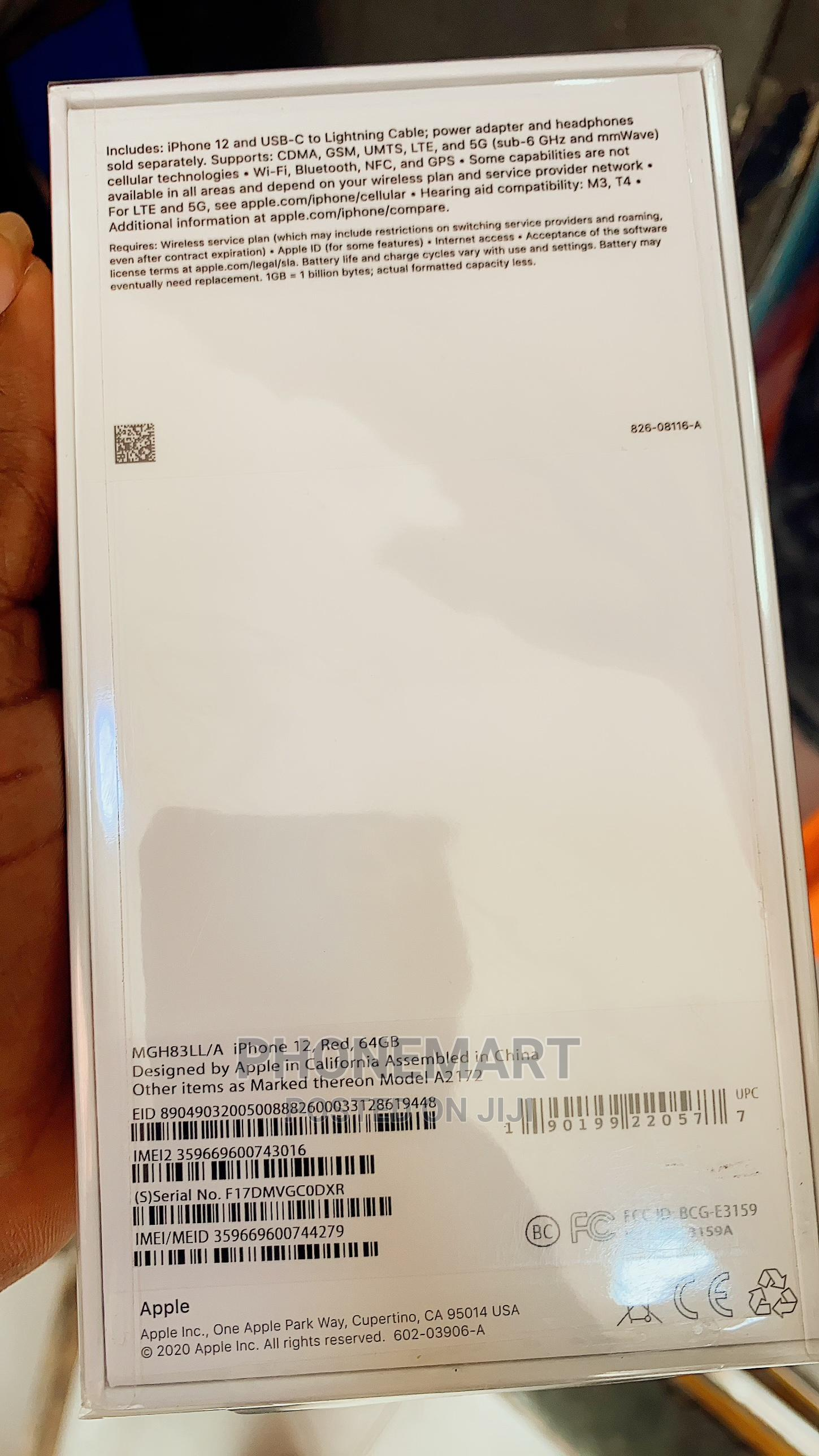 New Apple iPhone 12 64 GB White | Mobile Phones for sale in Ikeja, Lagos State, Nigeria