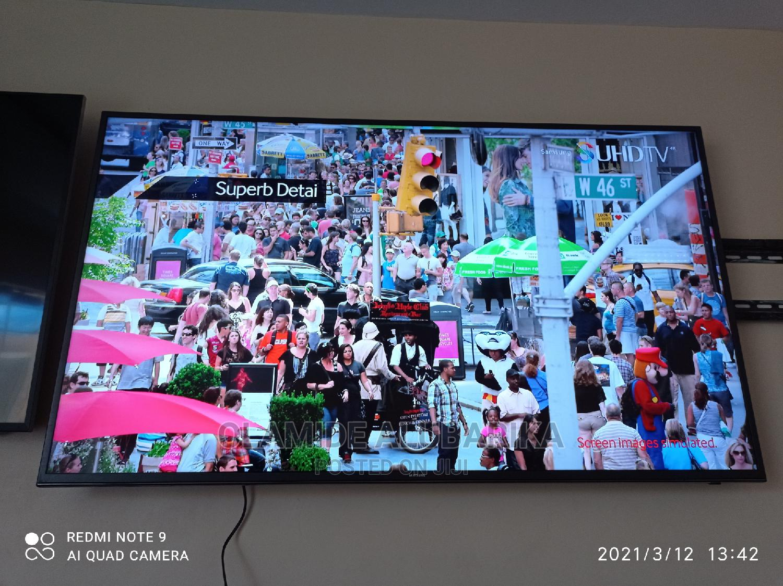 "Samsung Un60js7000 60"" Smart LED 4K Ultra HD TV   TV & DVD Equipment for sale in Ojo, Lagos State, Nigeria"