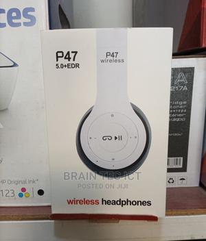 P47 Wireless Headset | Headphones for sale in Abuja (FCT) State, Wuse