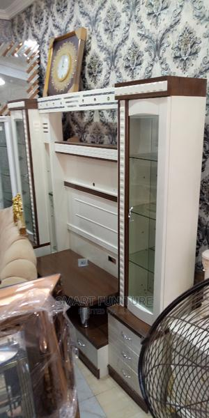 High Classic Full Luxury Tv Stand Unit | Furniture for sale in Lagos State, Ajah