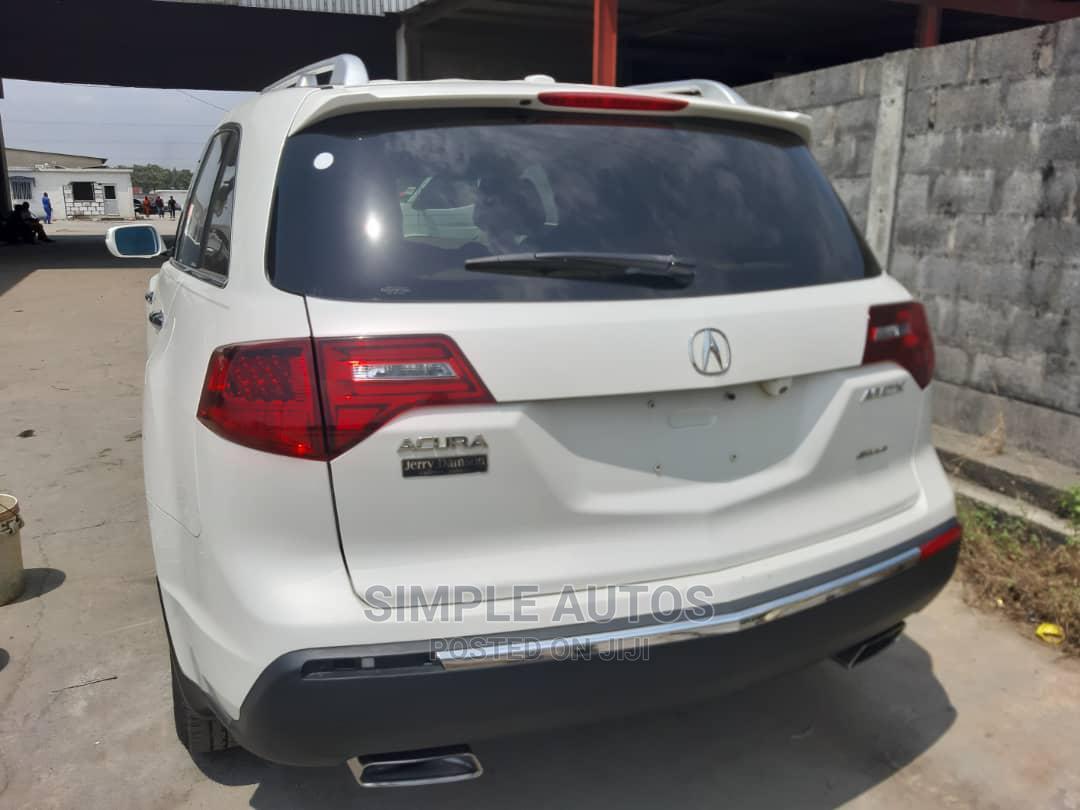 Archive: Acura MDX 2012 White