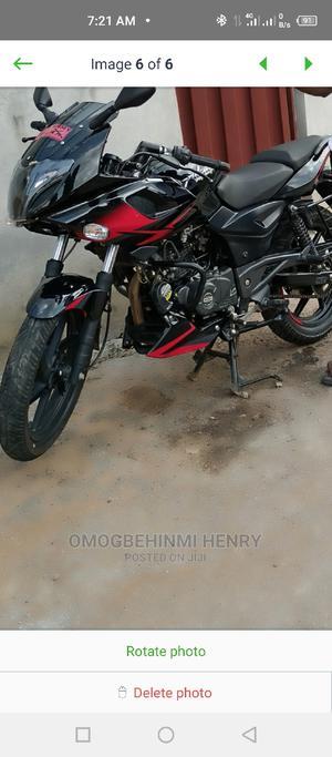 Bajaj Pulsar 220 F 2021 Black   Motorcycles & Scooters for sale in Ondo State, Akure