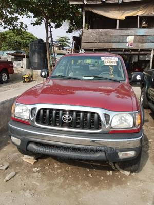 Toyota Tacoma 2004 Double Cab V6 4WD Red   Cars for sale in Lagos State, Apapa