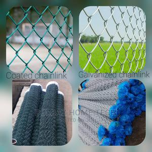 Fence Wire Chainlink; Galvanized and Coated(Green) | Building Materials for sale in Lagos State, Surulere
