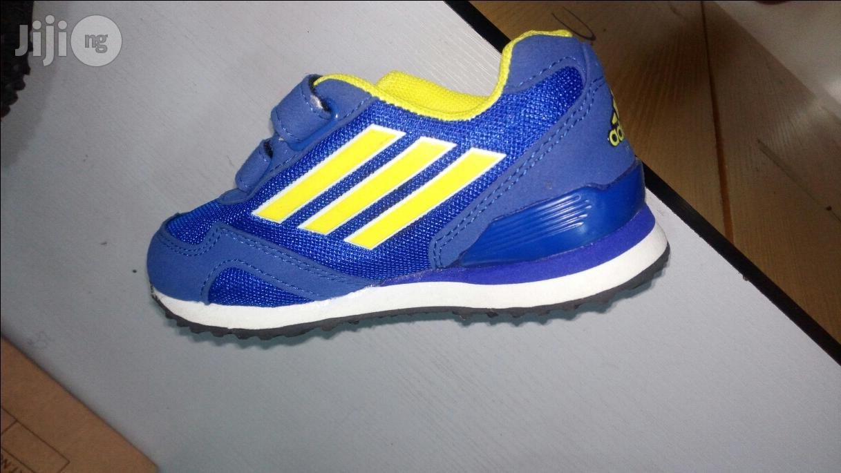 Children Adidas And Nike Sports Canvas