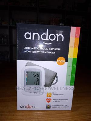 Automatic Blood Pressure Monitor With Memory | Medical Supplies & Equipment for sale in Edo State, Benin City