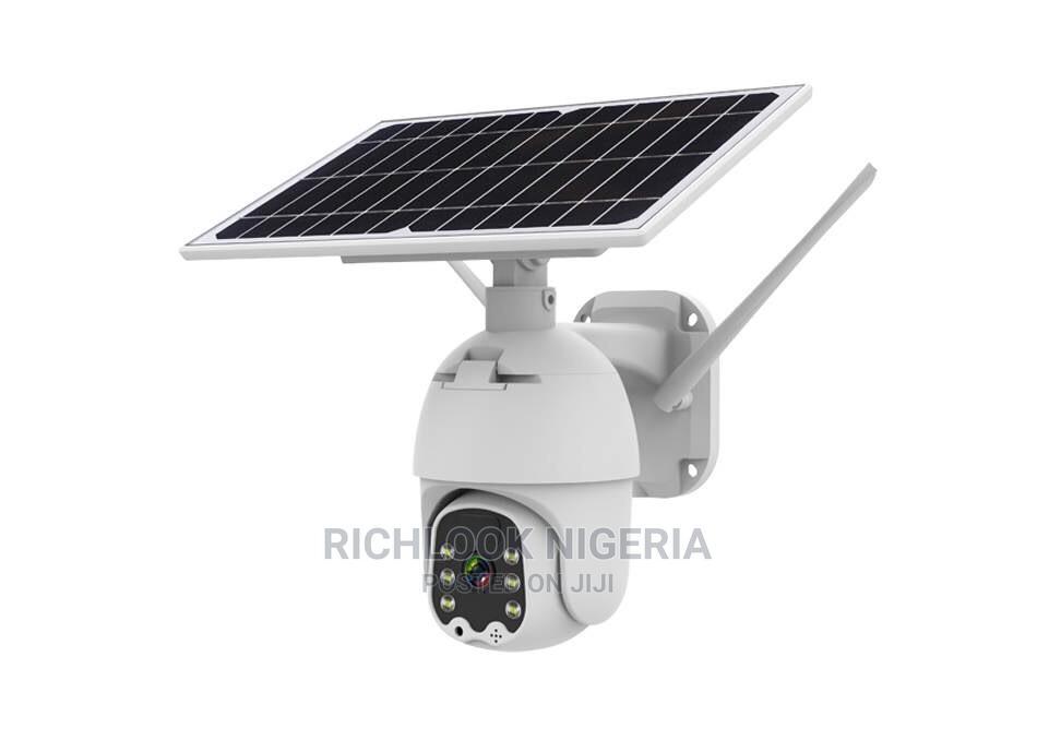 Surveillance 4G Solar Camera