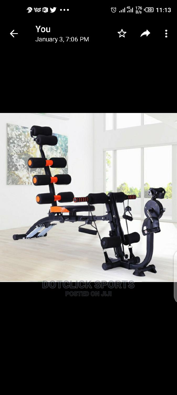 Six Pack Wonder Core With Pedal
