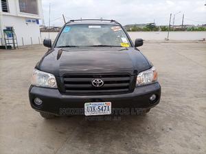 Toyota Highlander 2005 V6 Black | Cars for sale in Lagos State, Amuwo-Odofin