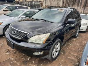 Lexus RX 2007 350 4x4 Black | Cars for sale in Lagos State, Isolo