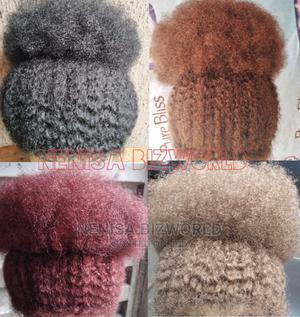 Natural and Full Afro Kinky Wig Hair - All Colours Available | Hair Beauty for sale in Lagos State, Kosofe