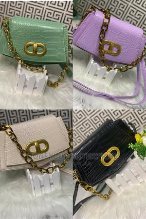 Chain and Leather Handle Bag | Bags for sale in Oyo State, Ibadan
