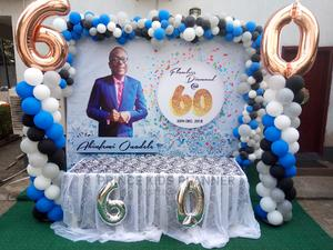 60th Birthday Balloon Cakebackdrop   Party, Catering & Event Services for sale in Lagos State, Ikoyi