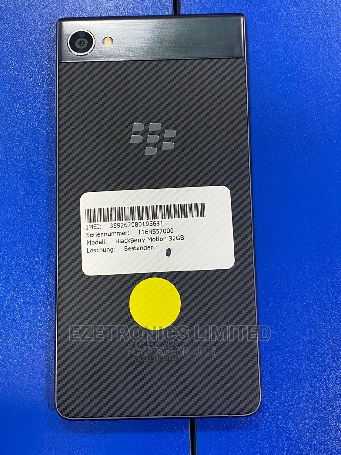 BlackBerry Motion 32 GB Black | Mobile Phones for sale in Wuse, Abuja (FCT) State, Nigeria