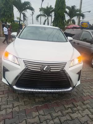Lexus RX 2017 350 F Sport FWD White | Cars for sale in Lagos State, Isolo