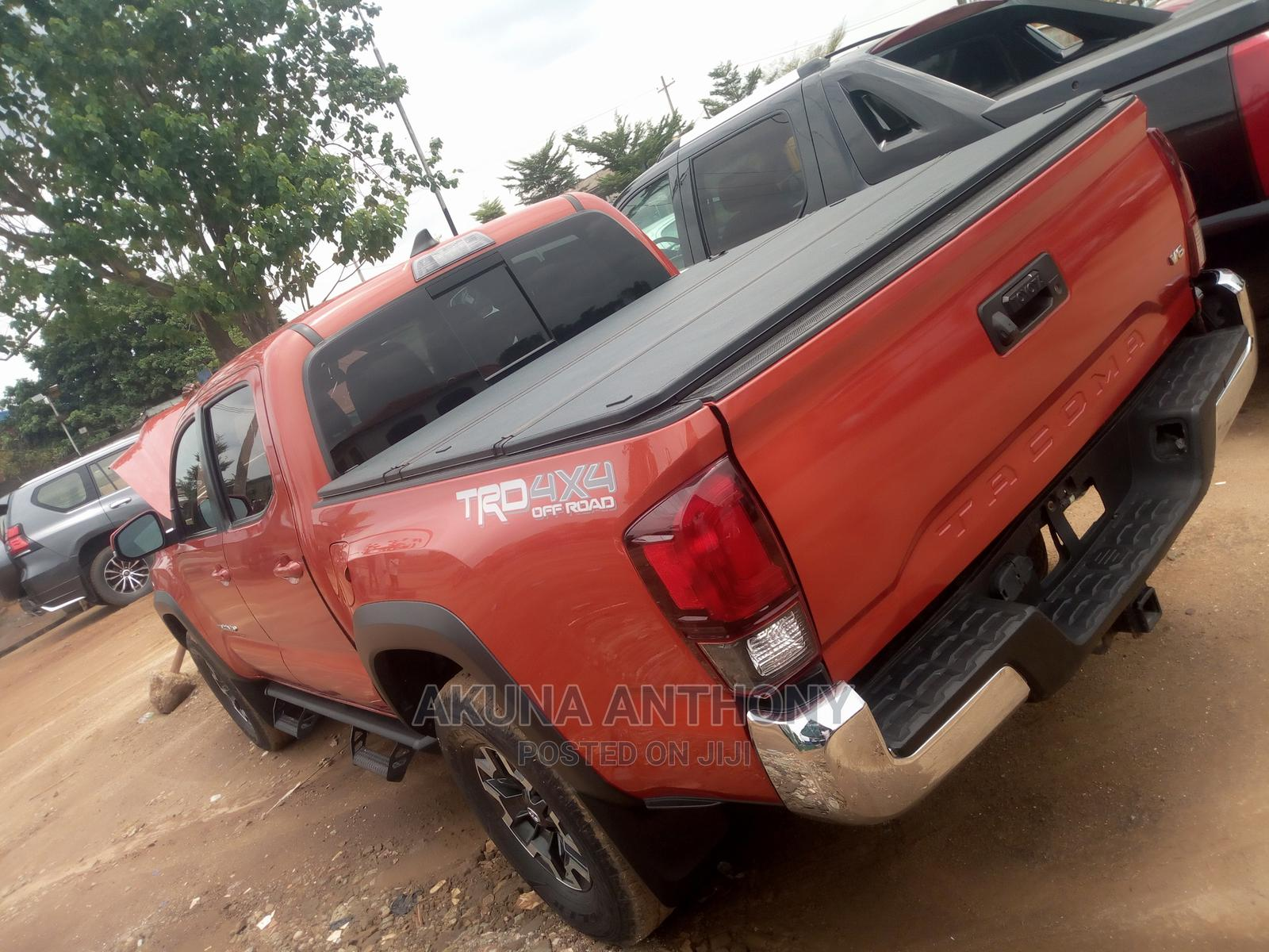 Toyota Tacoma 2018 Red   Cars for sale in Alimosho, Lagos State, Nigeria