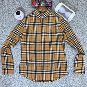 Original Burberry Long Sleeve T Shirts Now Available   Clothing for sale in Lagos State, Lagos Island (Eko)