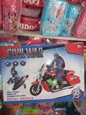 Kids Captain America Auto Bike | Toys for sale in Lagos State, Apapa