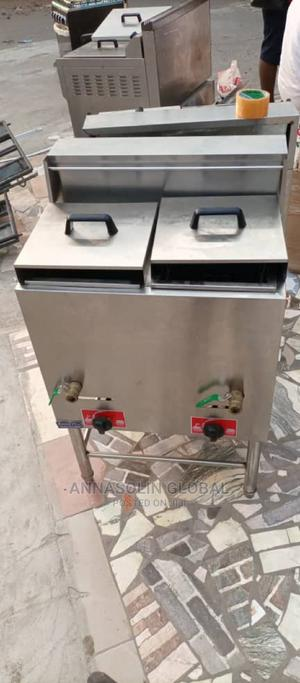 Brand New Double Tank Standing Industrial Fryer 40litrs | Restaurant & Catering Equipment for sale in Lagos State, Ikeja