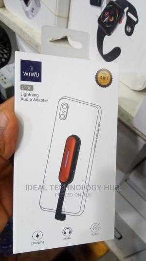 Wiwu Lightening Audio Adapter LTO6 | Accessories for Mobile Phones & Tablets for sale in Lagos State, Ikeja