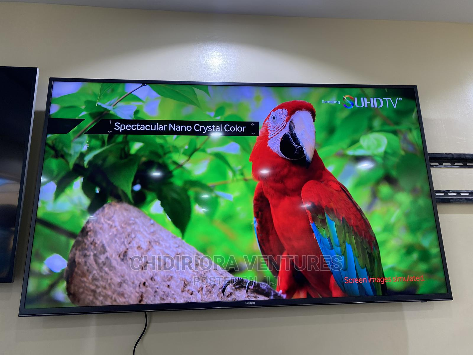 "Samsung Un60js7000 60"" Class 4K Ultra HD Smart LED Suhd TV | TV & DVD Equipment for sale in Ojo, Lagos State, Nigeria"