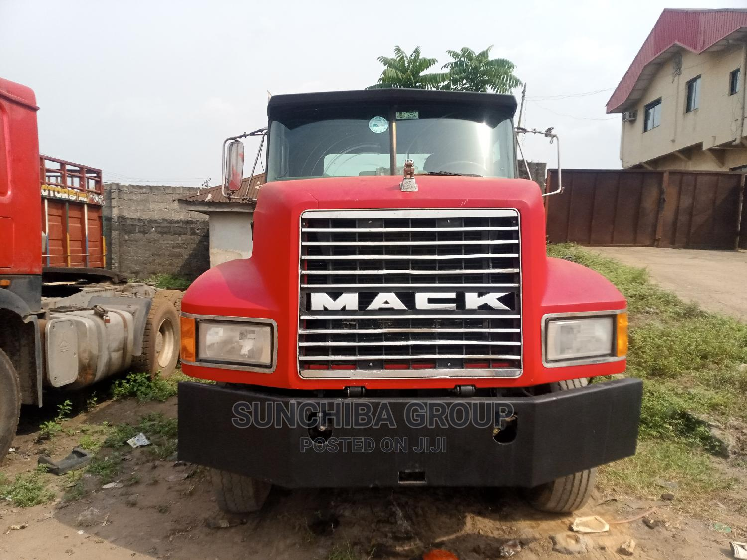 Red CH Mack Truck Tractor