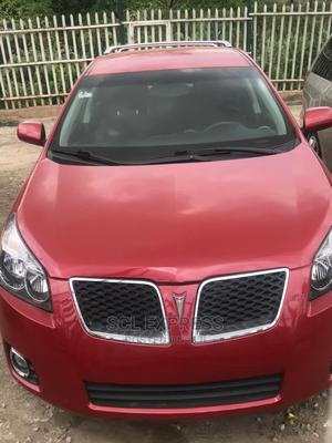 Pontiac Vibe 2009 2.4 4WD Red | Cars for sale in Lagos State, Ojodu