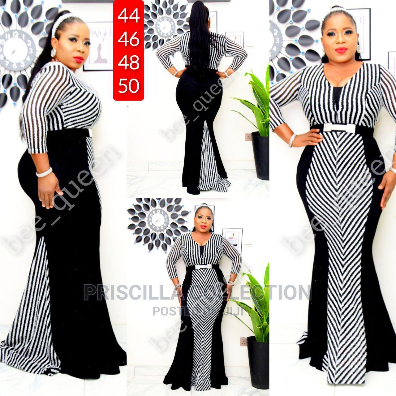 Turkey Quality Long Dinner Gown for Women | Clothing for sale in Ajah, Lagos State, Nigeria
