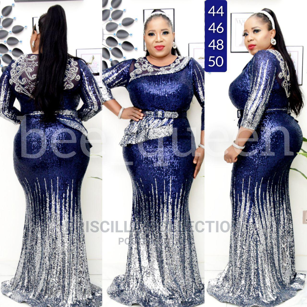 Turkey Quality Long Dinner Gown for Women