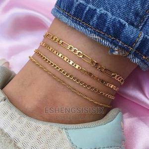 Set Of Cuban Steel Leg Chains | Jewelry for sale in Lagos State, Amuwo-Odofin