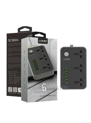 6 USB LDNIO Power Socket | Accessories & Supplies for Electronics for sale in Lagos State, Ikeja