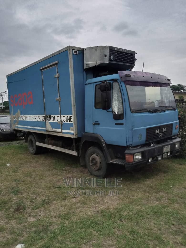 Man Diesel Cooling Truck for Sale