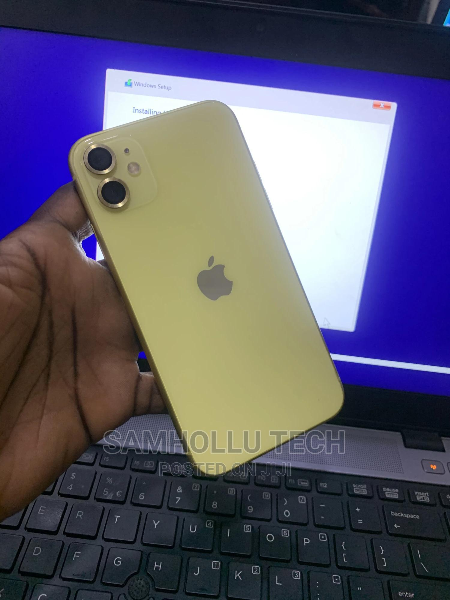 Archive: Apple iPhone 11 64 GB Yellow